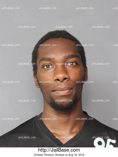 CHRISTIAN PEARSON mugshot picture