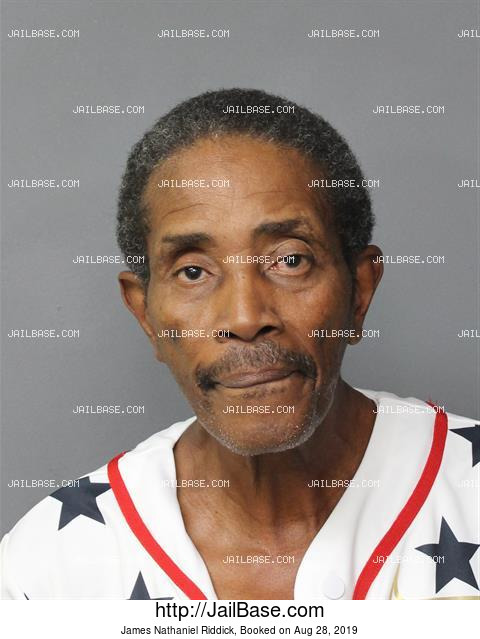 JAMES NATHANIEL RIDDICK mugshot picture