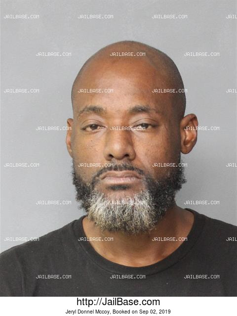 JERYL DONNEL MCCOY mugshot picture