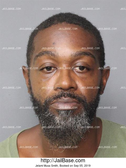 JELAMI MUSA SMITH mugshot picture