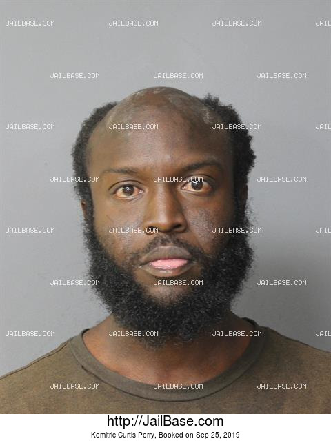 KEMITRIC CURTIS PERRY mugshot picture
