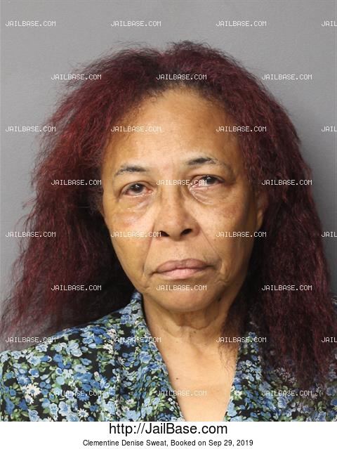CLEMENTINE DENISE SWEAT mugshot picture