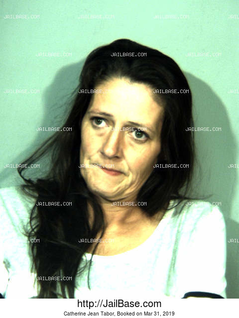 CATHERINE JEAN TABOR mugshot picture