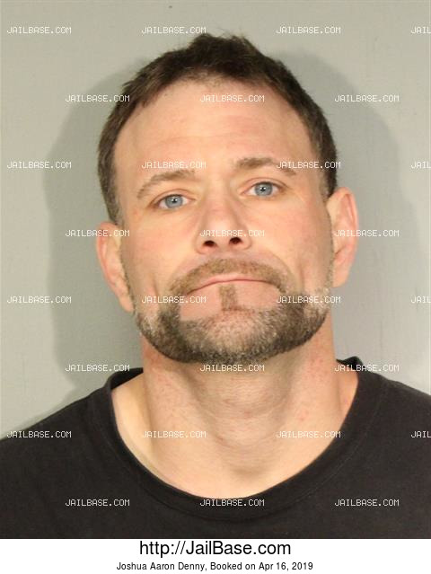 JOSHUA AARON DENNY mugshot picture
