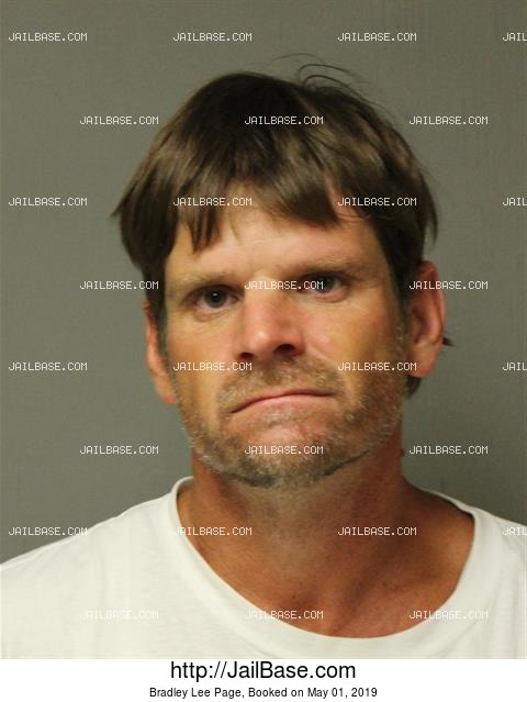 BRADLEY LEE PAGE mugshot picture