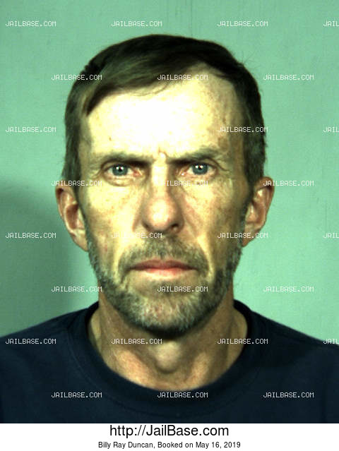 BILLY RAY DUNCAN mugshot picture