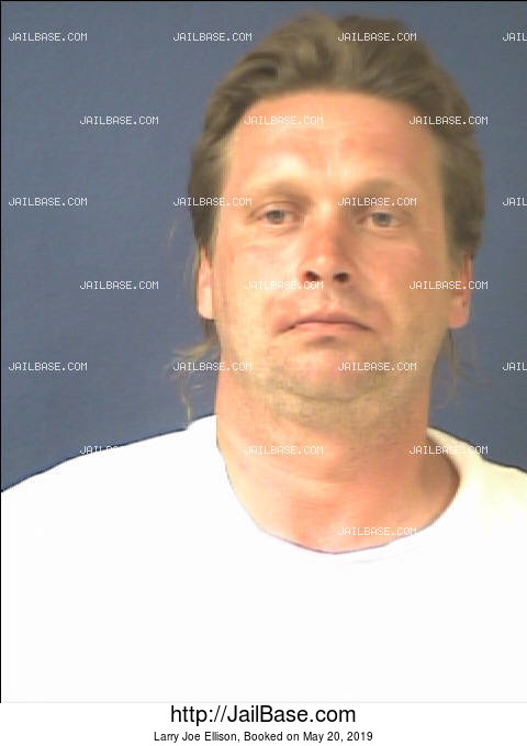 LARRY JOE ELLISON mugshot picture