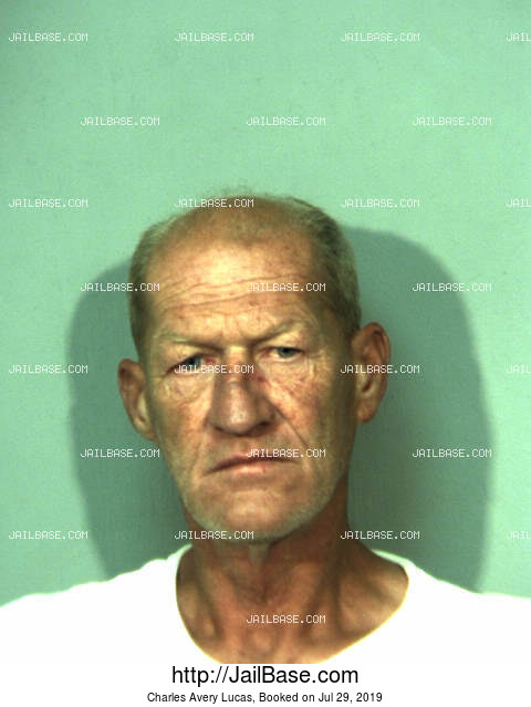 CHARLES AVERY LUCAS mugshot picture