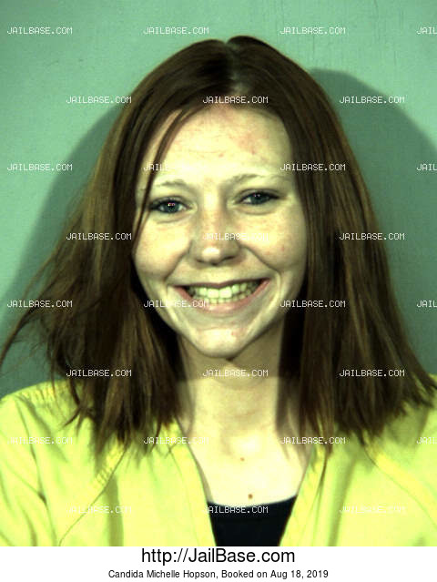 CANDIDA MICHELLE HOPSON mugshot picture