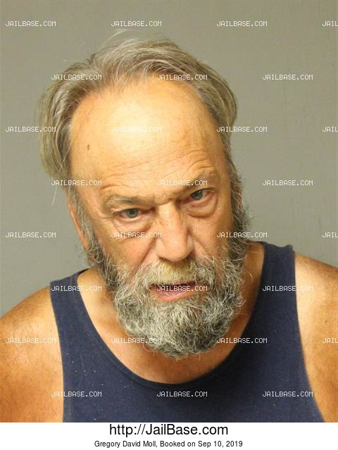 GREGORY DAVID MOLL mugshot picture