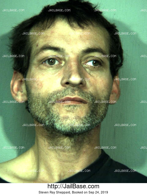 STEVEN RAY SHEPPARD mugshot picture