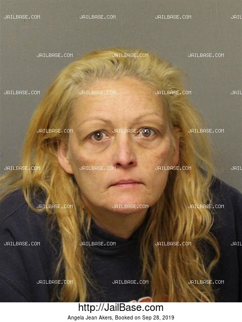 ANGELA JEAN AKERS mugshot picture