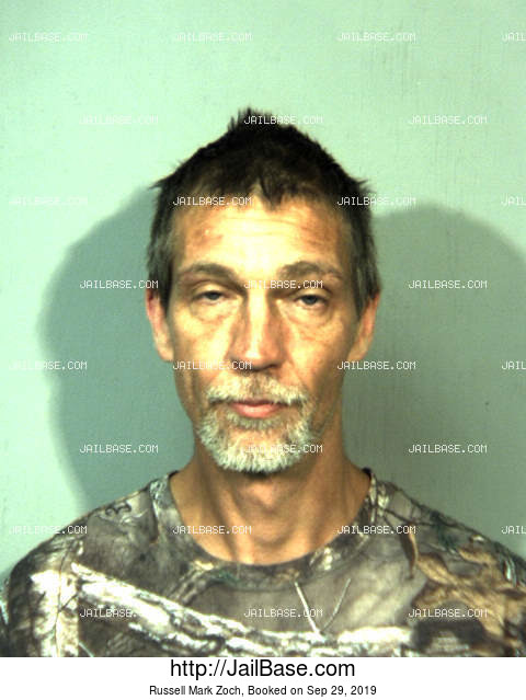 RUSSELL MARK ZOCH mugshot picture