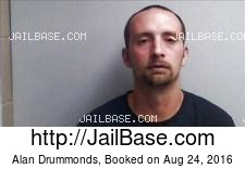 Alan Drummonds mugshot picture