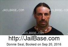Donnie Seal mugshot picture