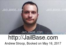 Andrew Stroop mugshot picture