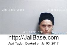 April Taylor mugshot picture