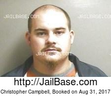 Christopher Campbell mugshot picture