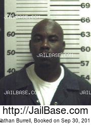 Nathan Burrell mugshot picture