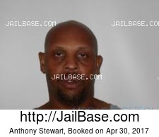 Anthony Stewart mugshot picture