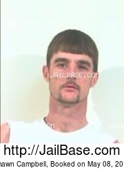 Shawn Campbell mugshot picture