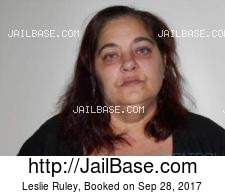 Leslie Ruley mugshot picture