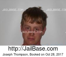 Joseph Thompson mugshot picture