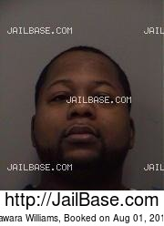 Jawara Williams mugshot picture