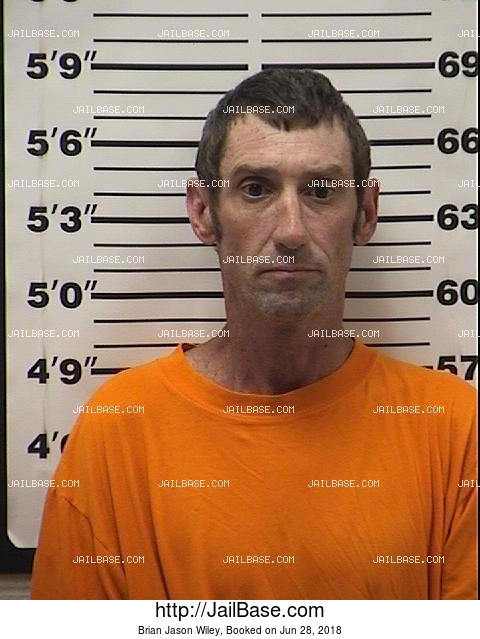 Brian Jason Wiley mugshot picture