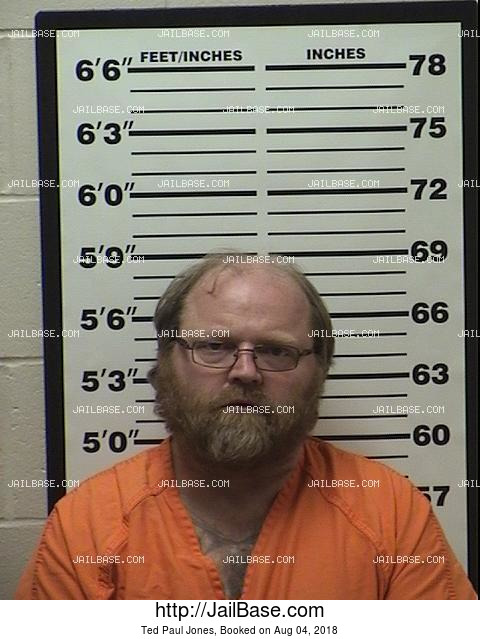 Ted Paul Jones mugshot picture