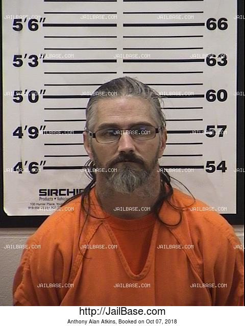 Anthony Alan Atkins mugshot picture