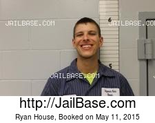 Ryan House mugshot picture