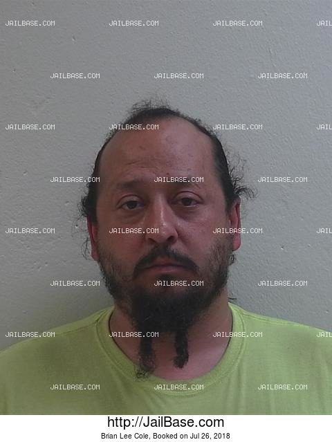 BRIAN LEE COLE mugshot picture