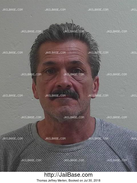 THOMAS JEFFREY MERTEN mugshot picture