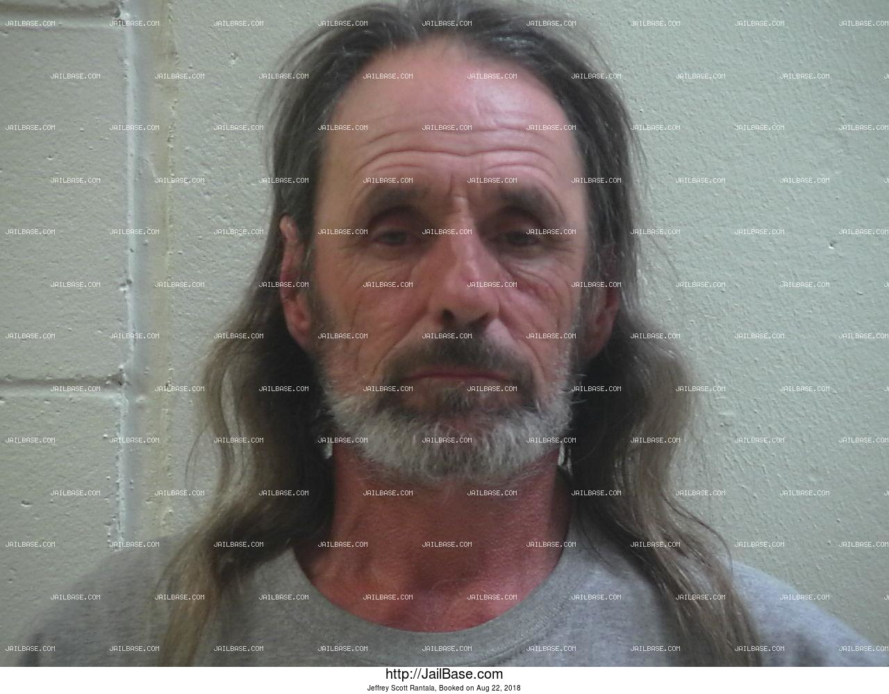 JEFFREY SCOTT RANTALA mugshot picture