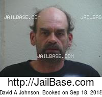DAVID A JOHNSON mugshot picture