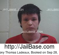 ANTHONY THOMAS LADEAUX mugshot picture