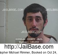 CHRISTOPHER MICHAEL RIMMER mugshot picture