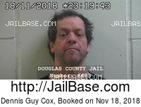 DENNIS GUY COX mugshot picture