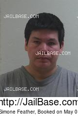 TREVOR SIMONE FEATHER mugshot picture