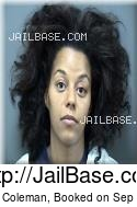 Diamond Coleman mugshot picture