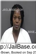 Laurice Brown mugshot picture